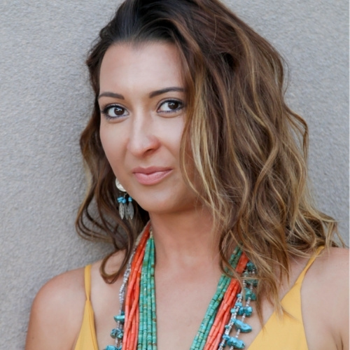 Native American Helen Tindel is a proud, fourth-generation artist.