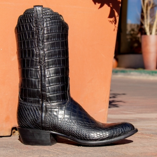 """The """"Baron"""" boot by Lucchese"""