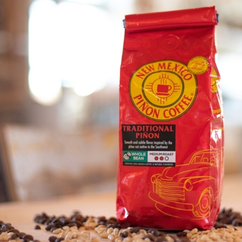 Traditional Piñon coffee in New Mexico