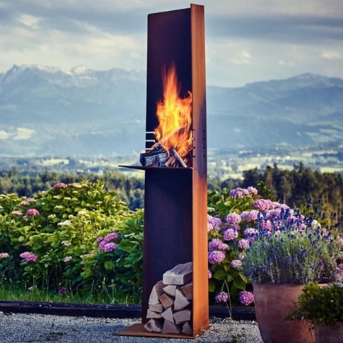 The Firebird specializes in distinctive outdoor-living accessories.