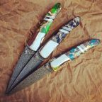 One-of-a-kind knives handcrafted by Santa Fe Stoneworks.